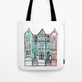 DC Row House No. 2 II U Street Tote Bag