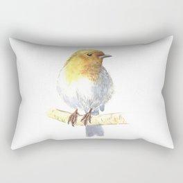 Robin bird Rectangular Pillow