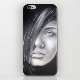 Tajemná žena iPhone Skin