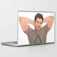 derek hale Laptop & iPad Skins featuring Derek Hale by DakotaLIAR