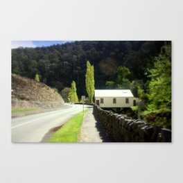 Walhalla Fire Station Canvas Print