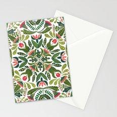 Little Red Riding Hood mandala Stationery Cards