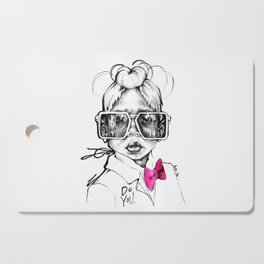 #STUKGIRL Penny Cutting Board