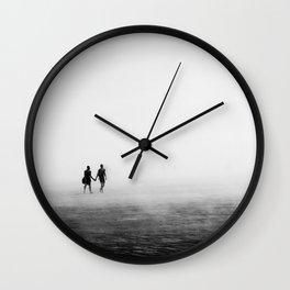 Everyone Else Disappears Wall Clock