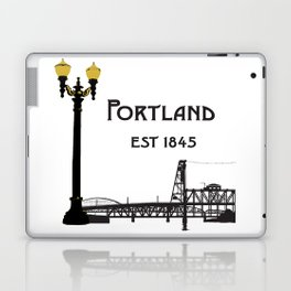 Historic Portland, Oregon by Seasons K Designs Laptop & iPad Skin