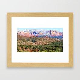 Sedona Vista Framed Art Print
