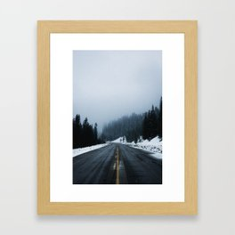Icefield Parkway Framed Art Print