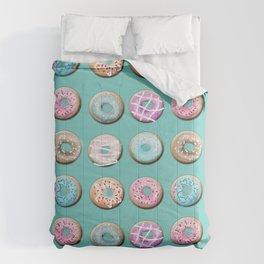 Donuts for tea Comforters