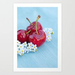Cherry Beauty Art Print