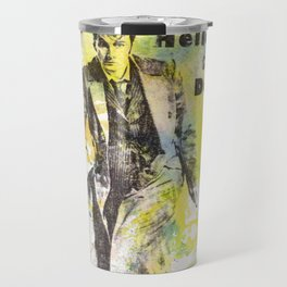 Doctor Who 10th Doctor David Tennant Art Poster Print Travel Mug