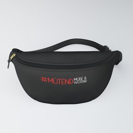 Mut Tired And Angry Fanny Pack