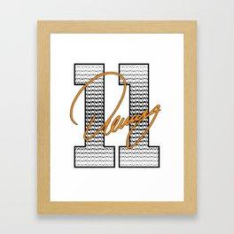 Denny Hamlin Framed Art Print