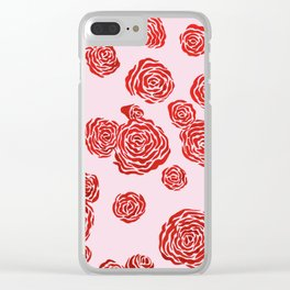 Roses II Clear iPhone Case