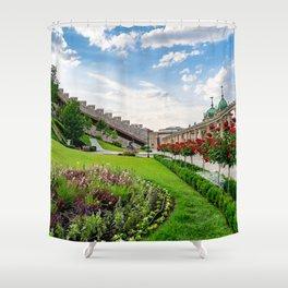 Royal Palace Garden Shower Curtain