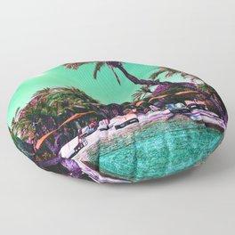 Dreaming On Floor Pillow