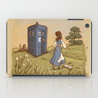 hallion iPad Cases featuring Adventure in the Great Wide Somewhere by Karen Hallion Illustrations