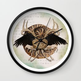 Praise the old gods #3 Wall Clock