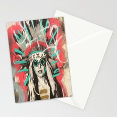 Indian Gurl Stationery Cards