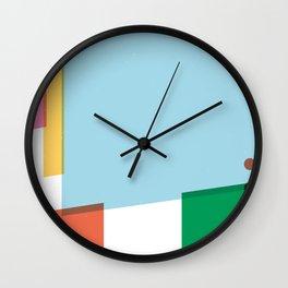 SECRET CYCLING FLAG - PANTANI Wall Clock