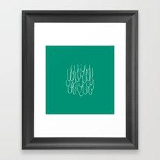Cascading Water - Minimal FS - by Friztin Framed Art Print