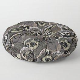 Social Sloths Floor Pillow