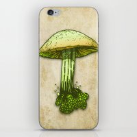 pie iPhone & iPod Skins featuring Poison Pie by KadetKat