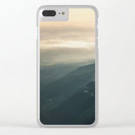 The Sleeping Fields Clear iPhone Case