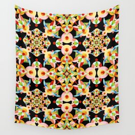 Kaleidoscope Fiesta Wall Tapestry
