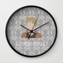His Last Vow - Mrs. Hudson Wall Clock