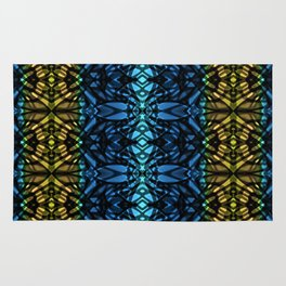 Fractal Art Stained Glass G315 Rug