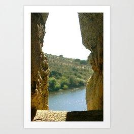 Castle in Portugal Art Print