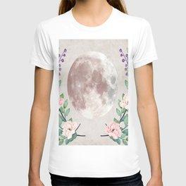 Vanilla Floral D. T-shirt
