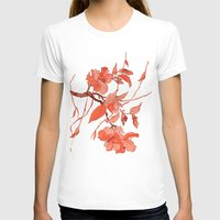 asian T-shirts featuring Asian Motifs by Tatevik Sayadyan