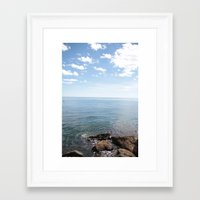 cape cod Framed Art Prints featuring Cape Cod by lhcreative