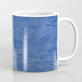Light Blue Stucco - Corbin Henry Monochromatic texture -Faux Finishes - Venetian Plaster Coffee Mug