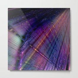 Thin Effervescence Metal Print
