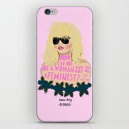 Blondie Feminist Quote iPhone Skin