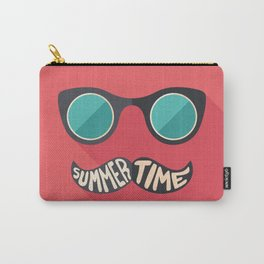 Hipster Summer Time Carry-All Pouch