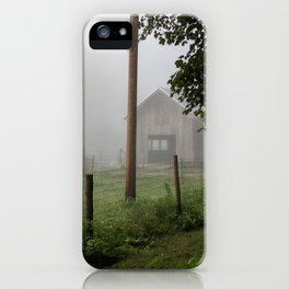 Rustic Barn iPhone Case