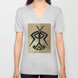 Twin Souls Merge Unisex V-Neck