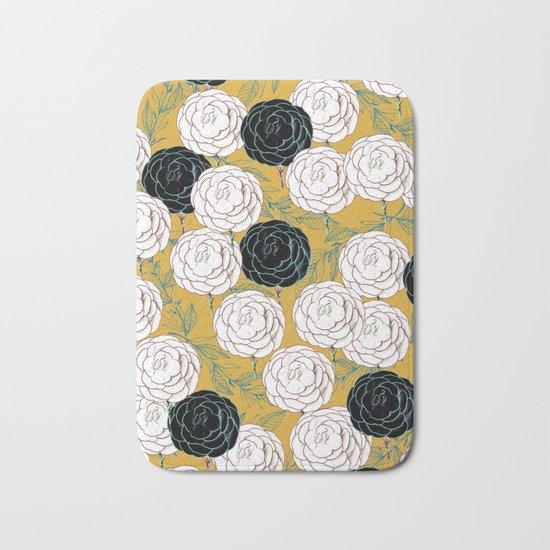 Carnations #society6 #decor #buyart Bath Mat
