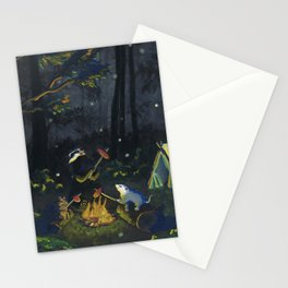 The Campers by Mary Bottom Stationery Cards
