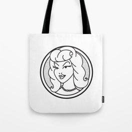 Haute Wanda Badge Tote Bag
