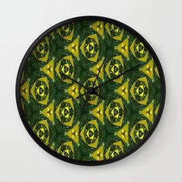 Electric Green Wall Clock
