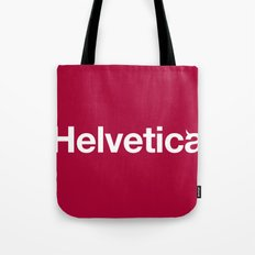 Hell-vetica Tote Bag
