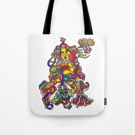 the forest of madness Tote Bag