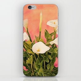 Monterey Calla Lilies iPhone Skin