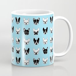 Cute Frenchies Doggie Family Collage Coffee Mug