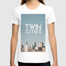Twin Cities-Minneapolis and Saint Paul T-shirt