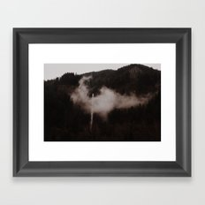 Oregon Waterfalls Framed Art Print